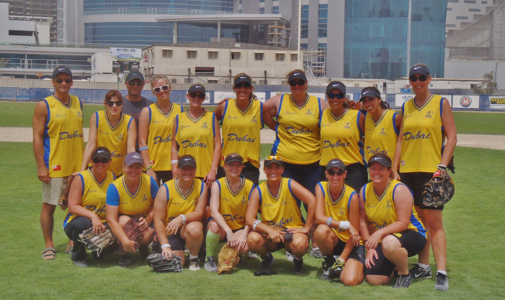 DUBAI CHICKS 2012 MIDDLE EAST SOFTBALL CHAMPIONS