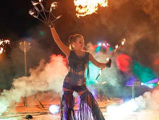 Инна-артист коллектива  Fire Party
