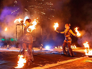 Руководитель группы, Ксения, рассказывает о том, как огонь покорил её сердце, или история основания