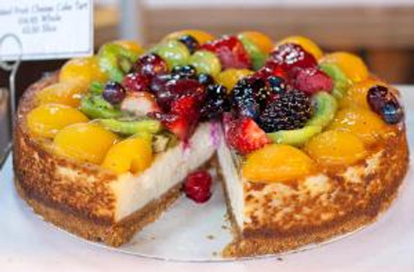 fruit chesecake