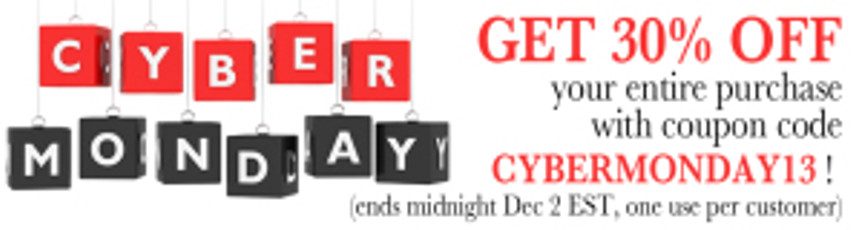 Samhain Cyber Monday Sale