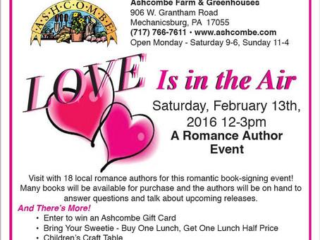 Valentine's Day Booksigning