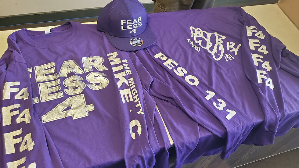 Fearless 4 Signature Apparel Long Sleeve Tshirt