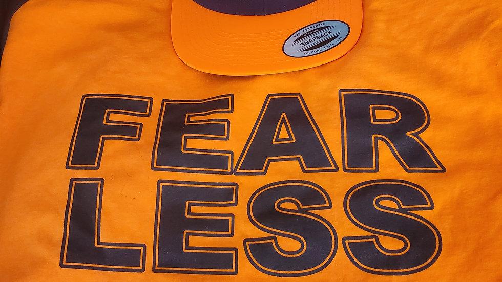 Fearless 4 Short Sleep T-Shirt with Matching Hat