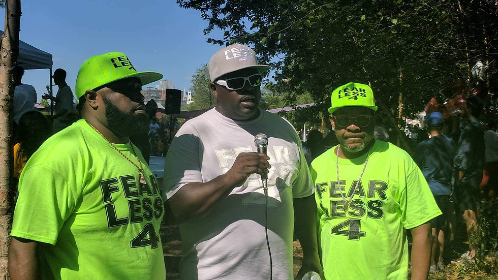 Fearless 4 T-shirt with Matching Hat