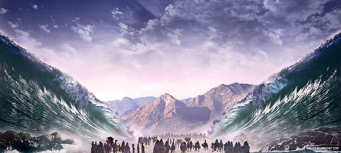 crossing_of_the_red_sea__matte_painting_