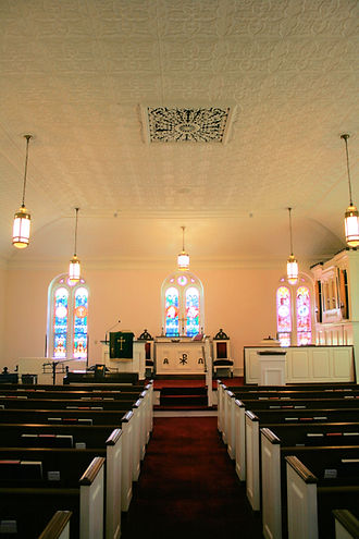 Salem Church sanctuary