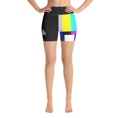 DREAM in Color Yoga Shorts