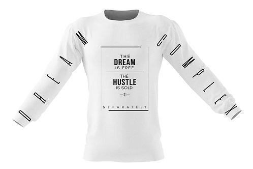 Hustle White Longsleeve