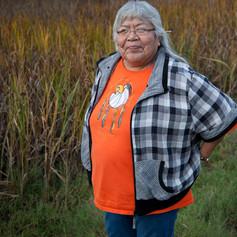 """Sarah James, activista y embajadora de la """"nación"""" del caribú en Alaska"""