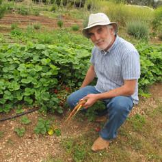 """Mariano Bueno, agricultor y divulgador, autor de """"El huerto familiar ecológico"""""""
