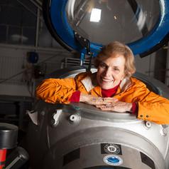 "Sylvia Earle, oceanógrafa, autora de ""Ocean: an illustrated atlas"""