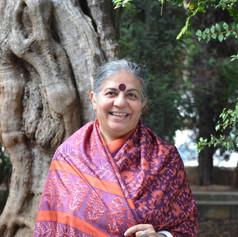 Vandana Shiva, ecofeminista e impulsora de la campaña Seed Freedom