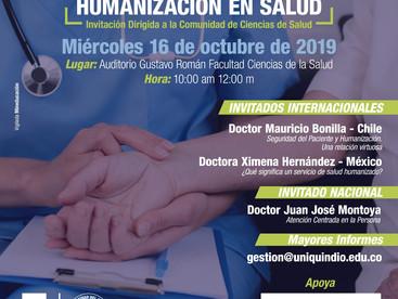 """""""CONFERENCIA INTERNACIONAL DE HUMANIZACIÓN EN SALUD"""""""