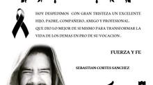 La Fundación Familiar FARO, lamenta el sensible fallecimiento de Sebastian Cortés Sanchez