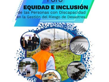 Invitación al Foro de EQUIDAD E INCLUSIÓN