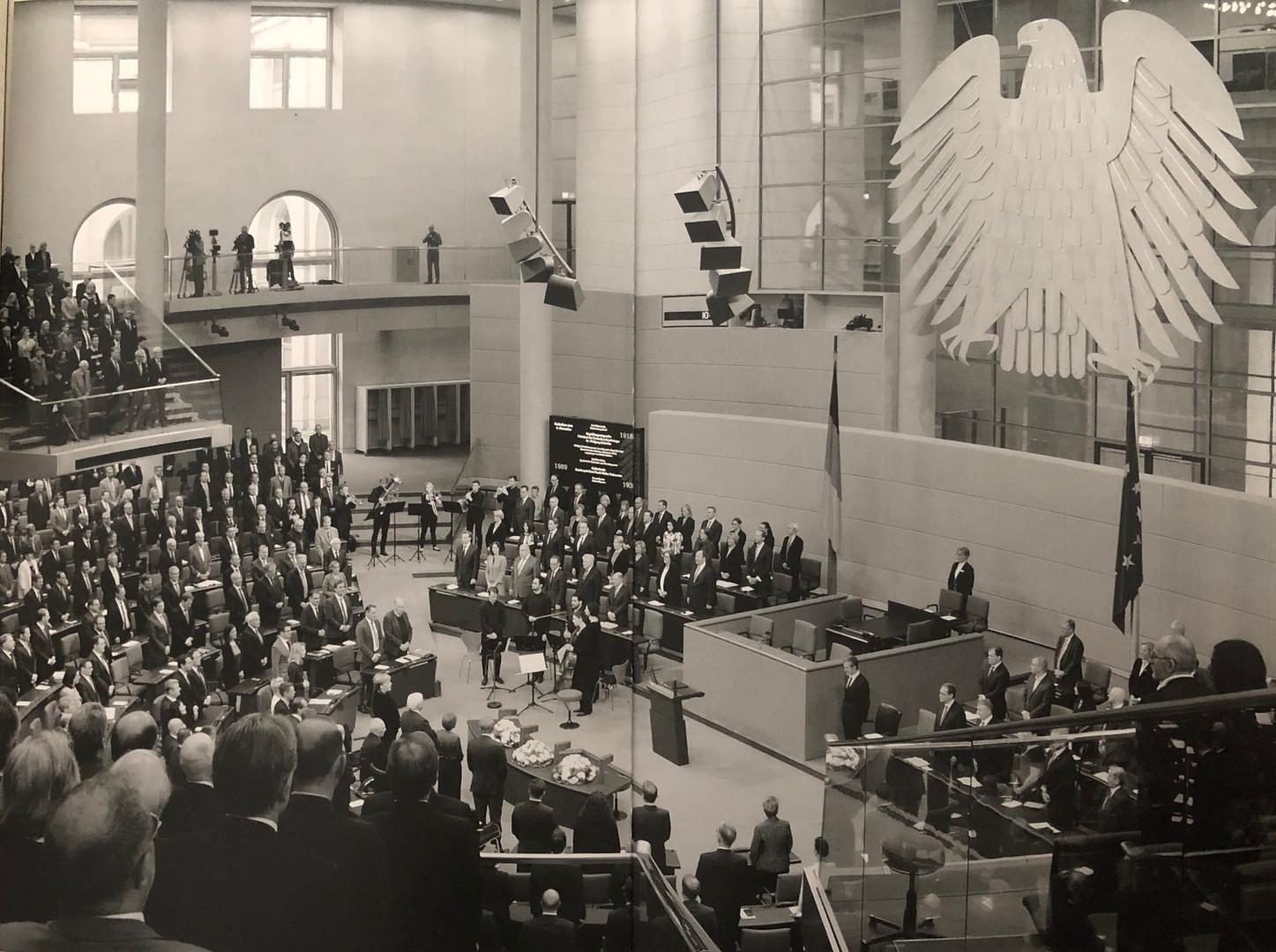 Bundestag cocnert