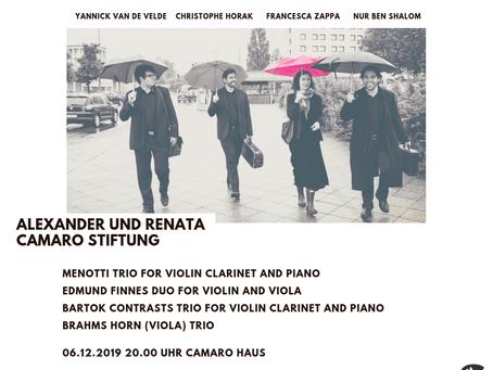 Camaro Stiftung Hosts The Nimrod Ensemble