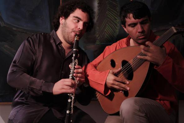 Duo with Wisam Gibran Nur Ben Shalom
