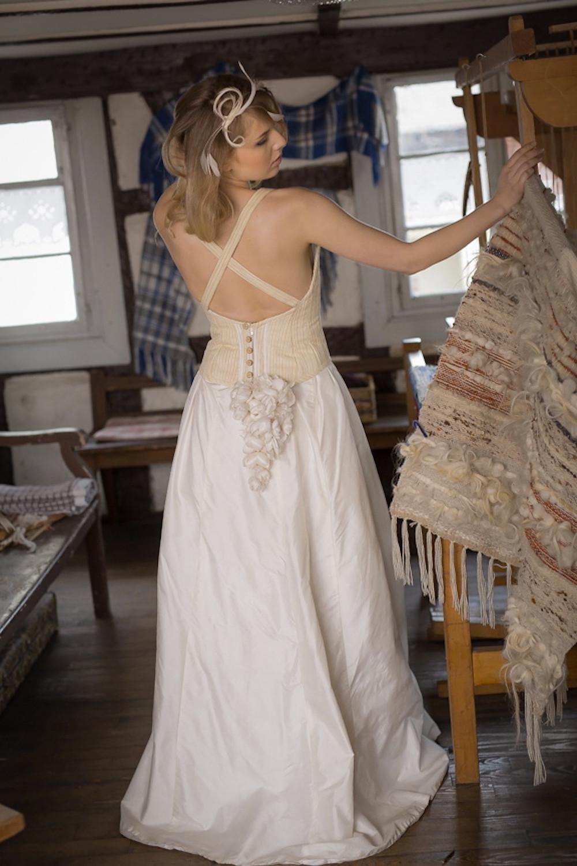 Robe de mariée - Aranel - vus de dos
