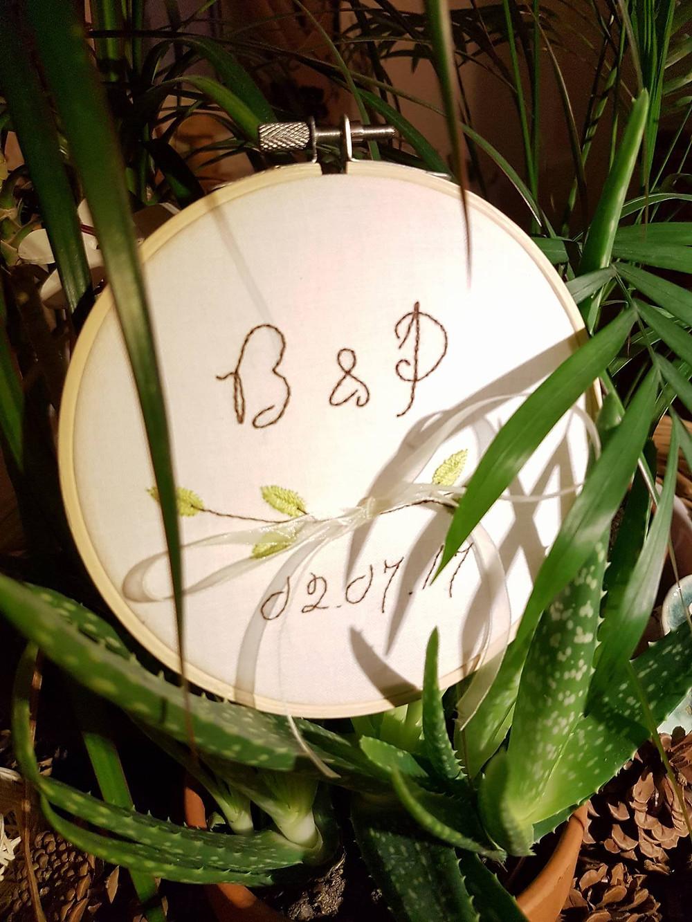 Broderie - B & P - Les mots brodés