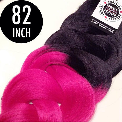 (25 pieces) BLACK/FUSCHIA