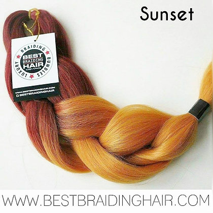 SUNSET - BRIGHT REDDISH GOLDEN