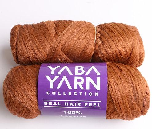 (50 pieces) LIGHT BROWN YABA YARN