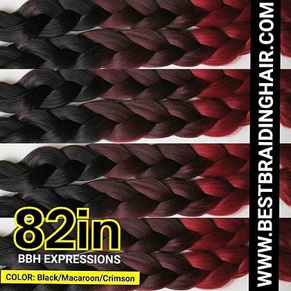 (25 pieces) BLACK / MACAROON / CRIMSON