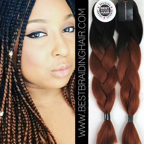 Most Customers Use 10 All Ombre Braiding Bundles For Small To Medium Box Braids 15 Large And 5 Cornrows