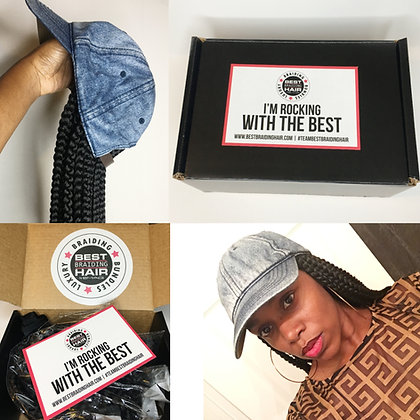 """DIY Care Kit (12"""" Crochet Box Braids)"""