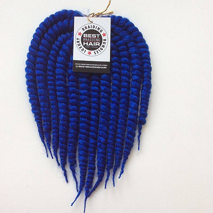 5 PACKS - YABA TWISTS (large): Blue