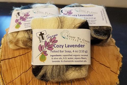 Felted Lavender Soap