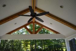 Cedar Ceiling Detail