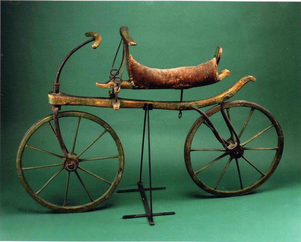 laufmaschine primeira bicicleta
