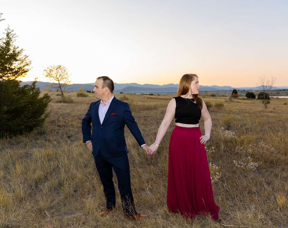 Sammie + Justin - Colorado Engagement Se