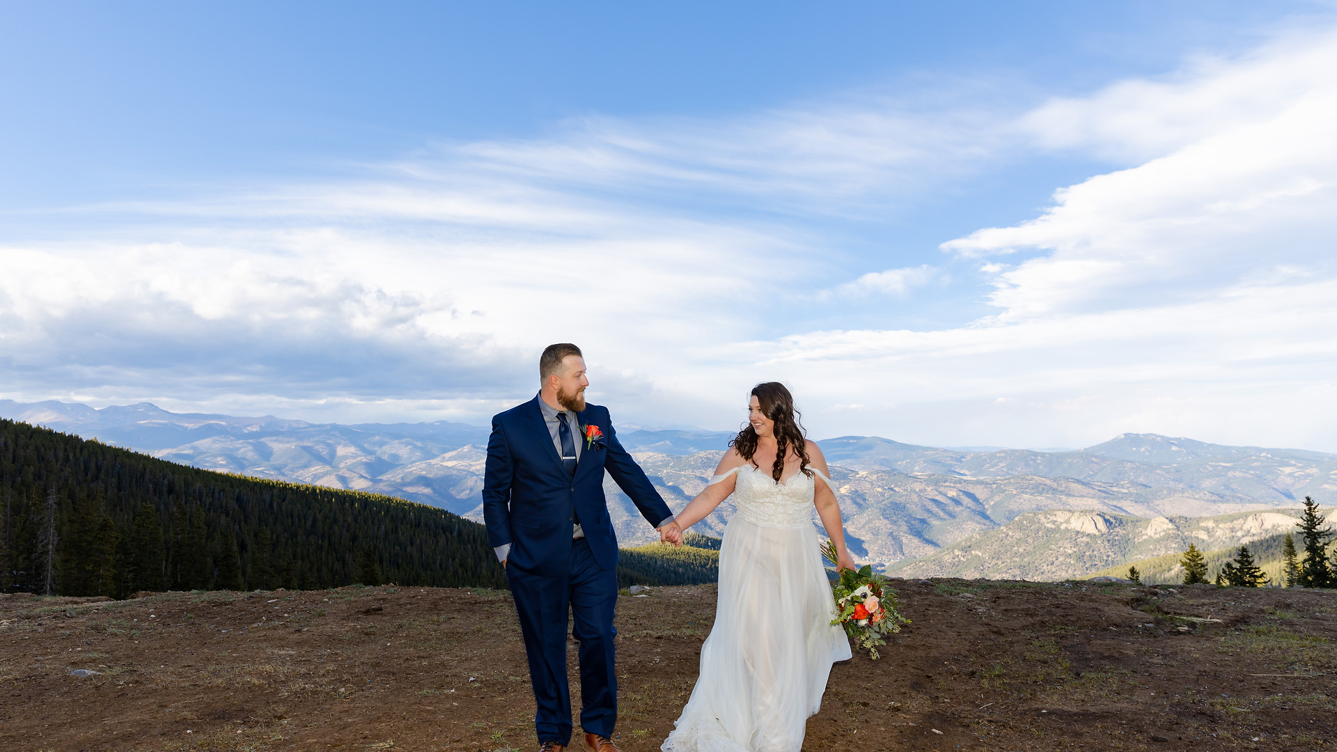 Abbie + Cody - Colorado WEDDING Photogra