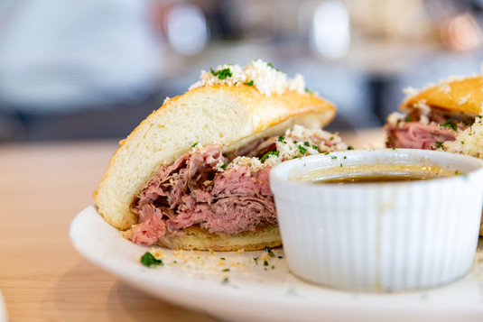 Eberts Terrace and Grill - French Dip-1.