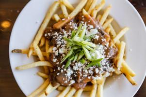 MUSHROOM STYLE Fries - The Roost - Longm