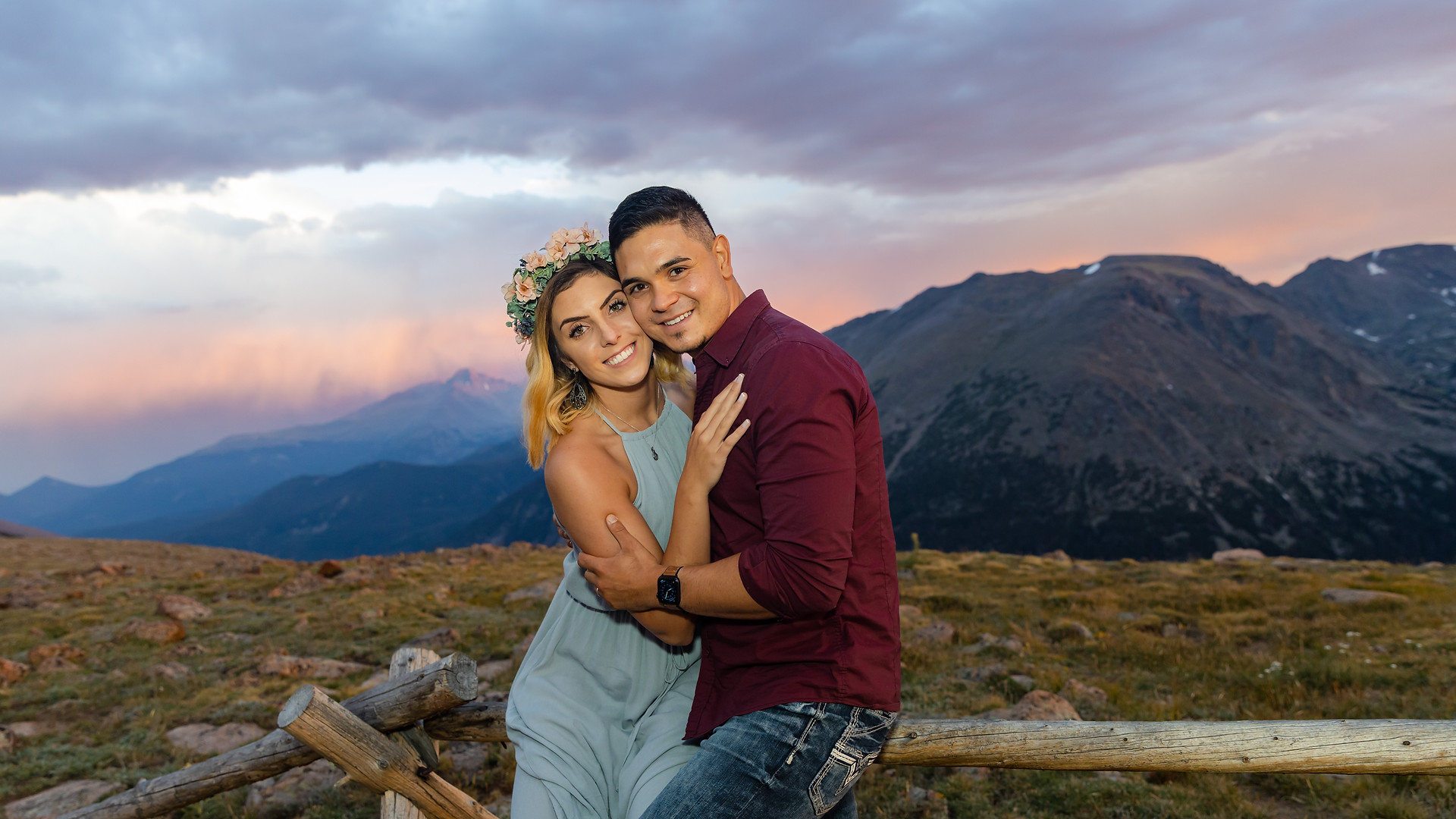 Olivia + Jaime - RMNP Engagement Session
