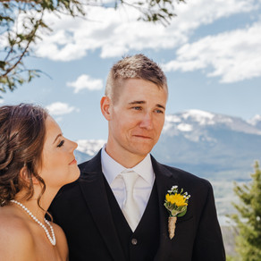 Sapphire Point Elopement | Lake Dillon, Breckenridge Colorado | Rachel + Trey