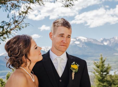 Sapphire Point Elopement | Lake Dillon, Breckenridge Colorado | Rachel + Trey
