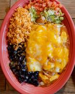 Salmon and Cream Cheese Enchilada - Cact