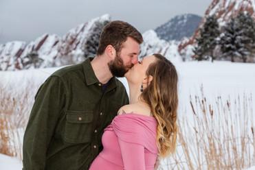 Rebecca + Chance - Colorado Maternity Se