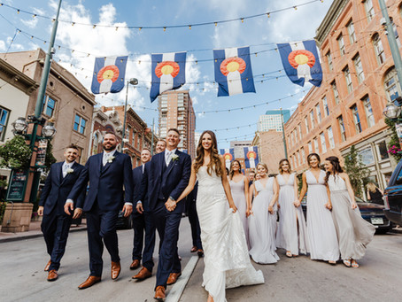 Melody + Shea's Downtown Denver Wedding | Four Seasons Denver | Colorado Wedding Photography