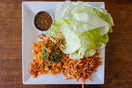 ROASTED SQUASH LETTUCE WRAPS - The Roost