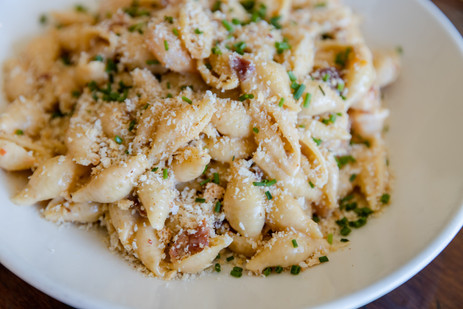 SHRIMP & BACON MAC - The Roost - Longmon