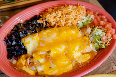 Salmon and Cream Cheese Enchilada - Cact