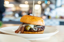 Eberts Terrace and Grill - Denver Burger