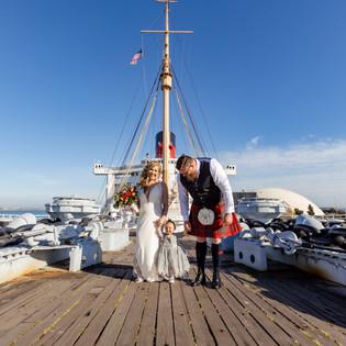 DESTINATION WEDDING on the QUEEN MARY - LONG BEACH, CA COLORADO WEDDING PHOTOGRAPHER | ERIKA + BRYAN